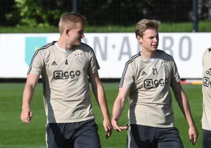 Matthijs de Ligt, Frenkie de Jong Ajax
