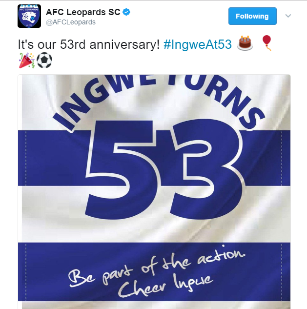 AFC Leopards anniversary