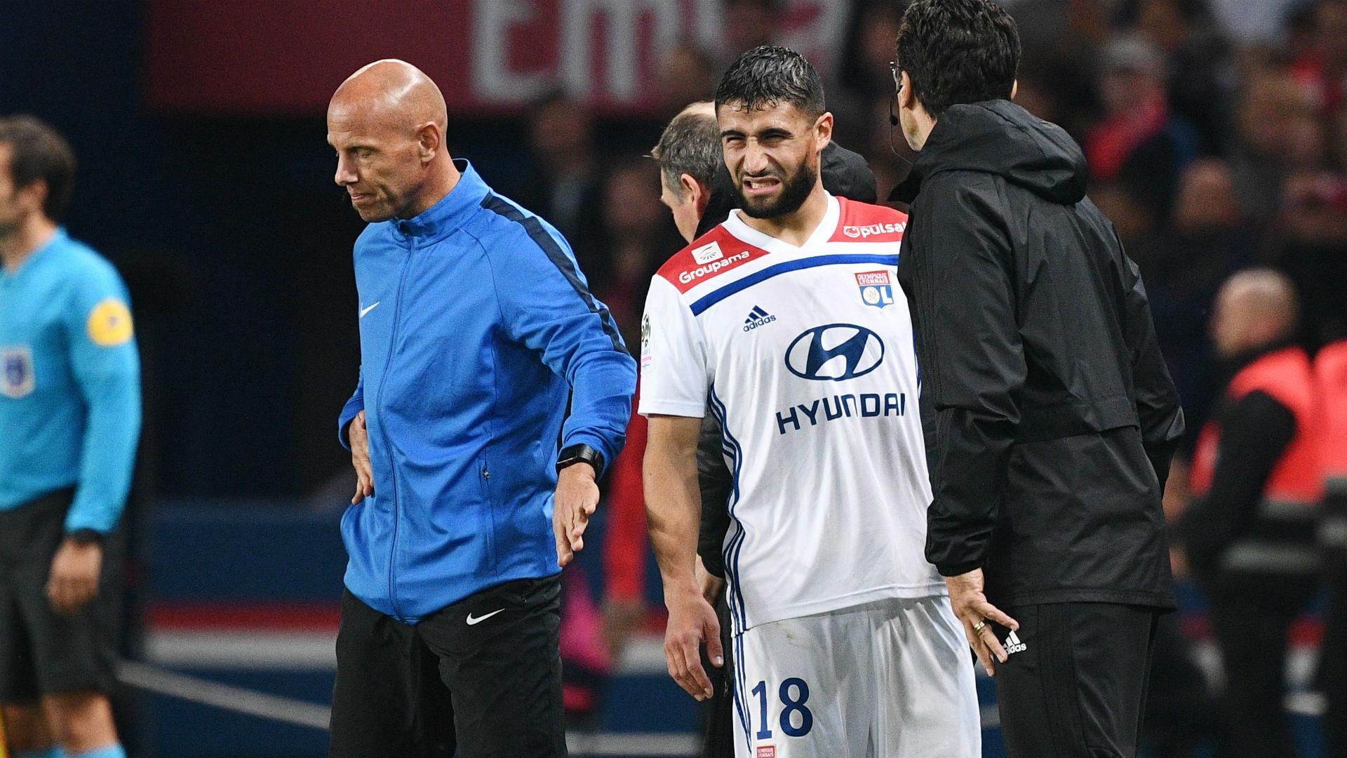 Nabil Fekir PSG Lyon Ligue 1 07102018