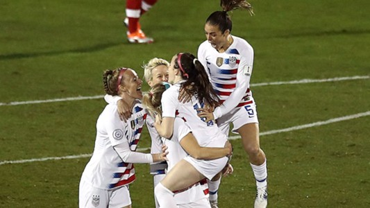Rose Lavelle USWNT Concacaf 2018