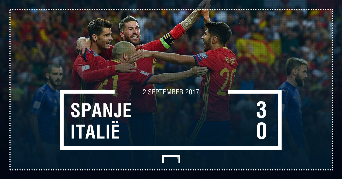 Spanje - Italië Graphic