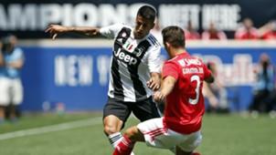 Joao Cancelo Alejandro Grimaldo Juventus Benfica ICC 2018