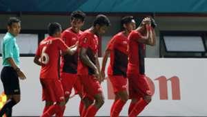 Selebrasi Hanif Sjahbandi - Indonesia U-23