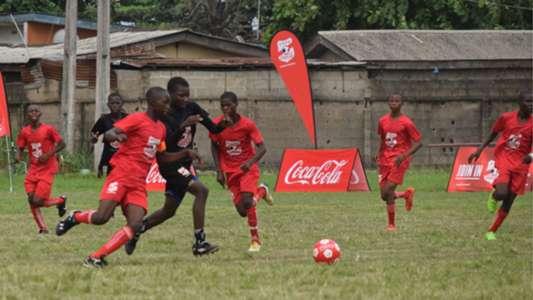 Copa Coca-Cola National Finals action