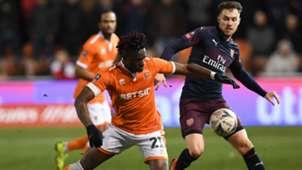 Ramsey Blackpool arsenal fa cup