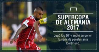 Arturo Vidal campeón Supercopa 2017