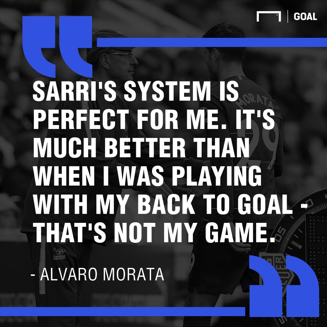 Morata Sarri quote PS