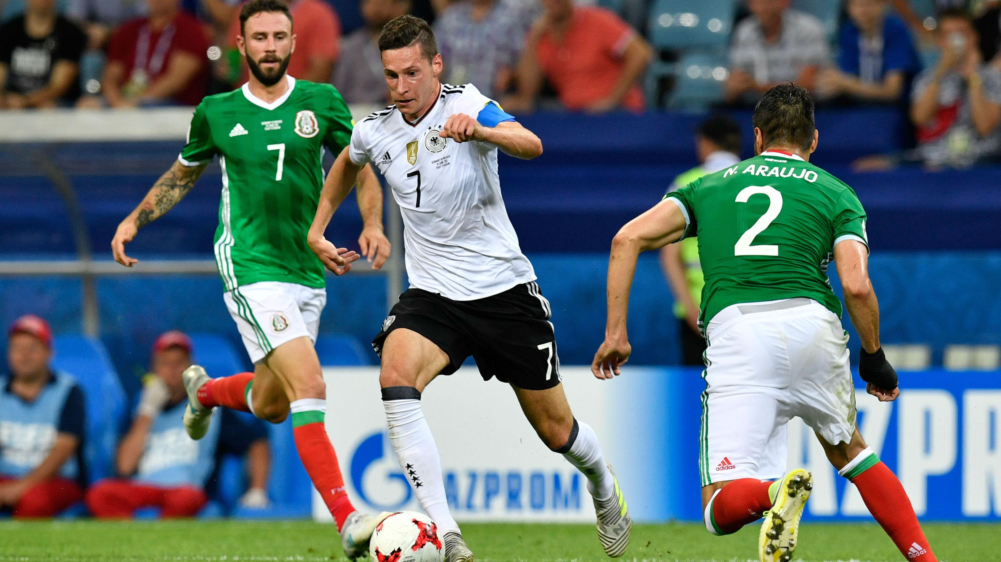 Deutschland blamiert sich gegen Mexiko