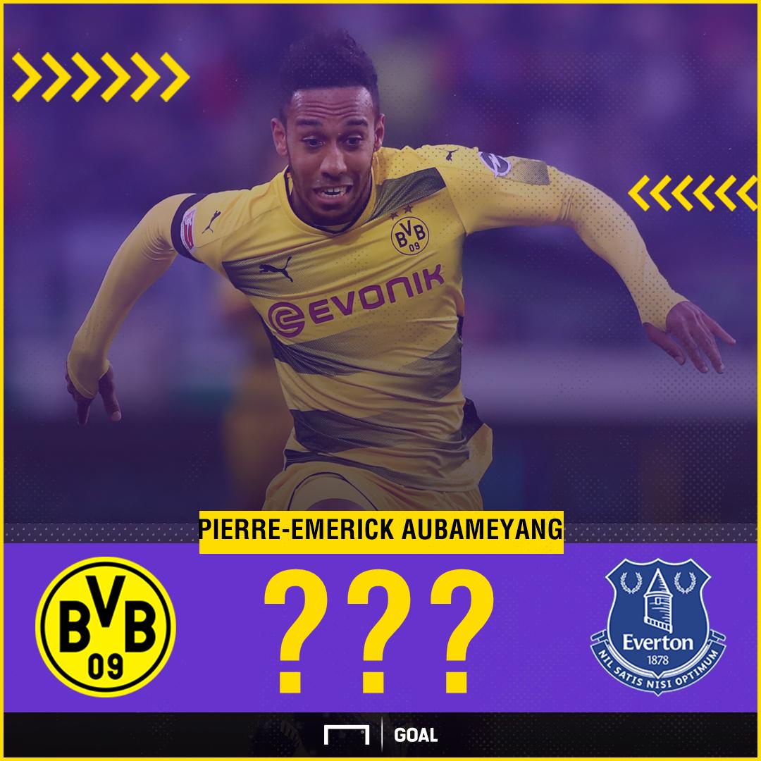 Pierre-Emerick Aubameyang to Everton