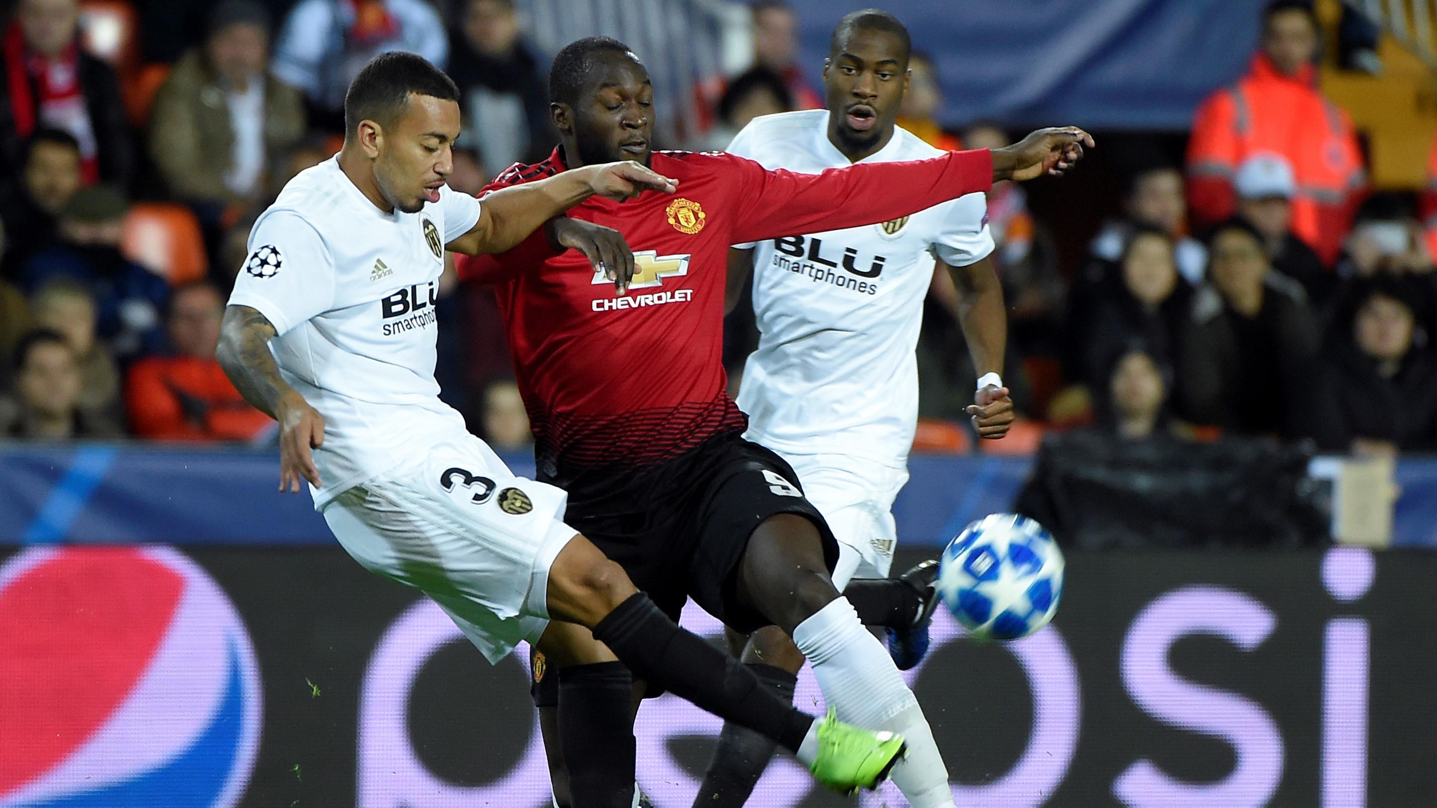Ruben Vezo Romelu Lukaku Valencia Manchester United UCL 12122018
