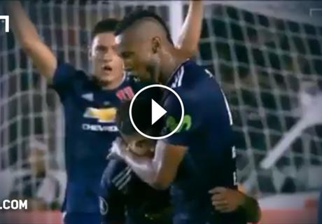 Copa: Mitspieler verletzt Torschützen bei Jubel