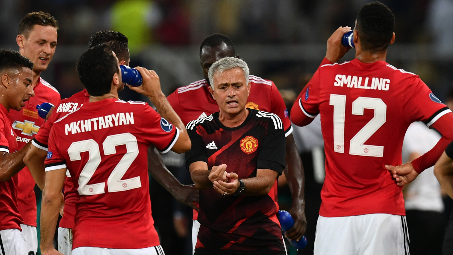 Jose Mourinho Manchester United 08082017