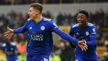 Harvey Barnes Leicester City 2018-19