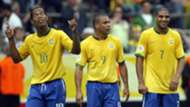 Brasil 2006 Ronaldinho Ronaldo Nazario Adriano
