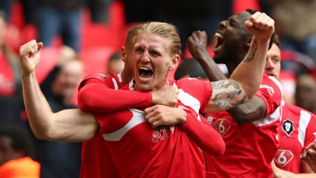 b5681124 Joy for Man Utd legends as Class of '92-backed Salford City earn promotion  to Football League. Tom Storer. Last updated 2 months ago