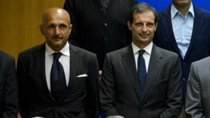 Allegri Spalletti Juventus Roma Serie A
