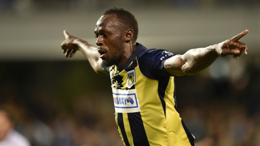 Usain Bolt Central Coast Mariners