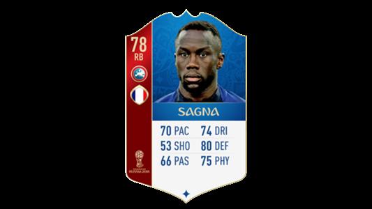 FIFA 18 World Cup France Sagna