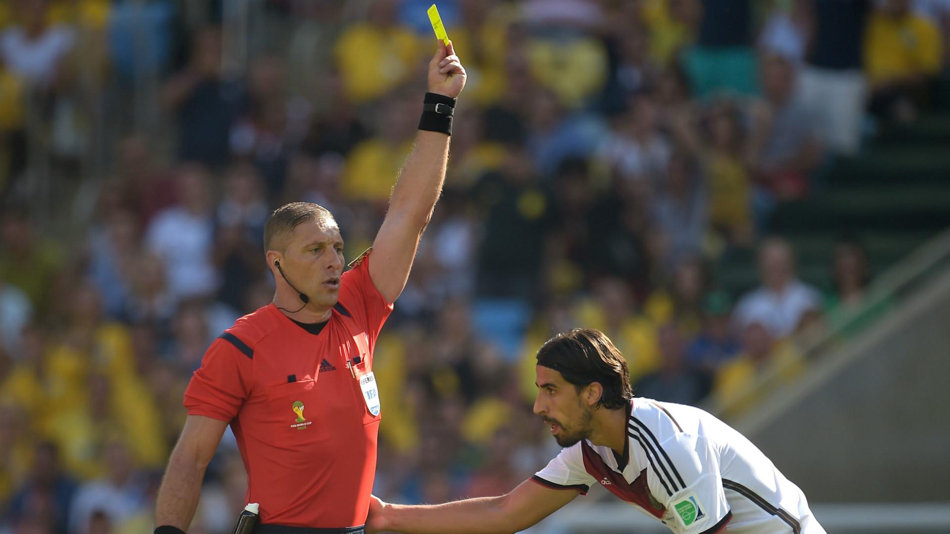 Nestor Pitana France Germany FIFA World Cup 2014