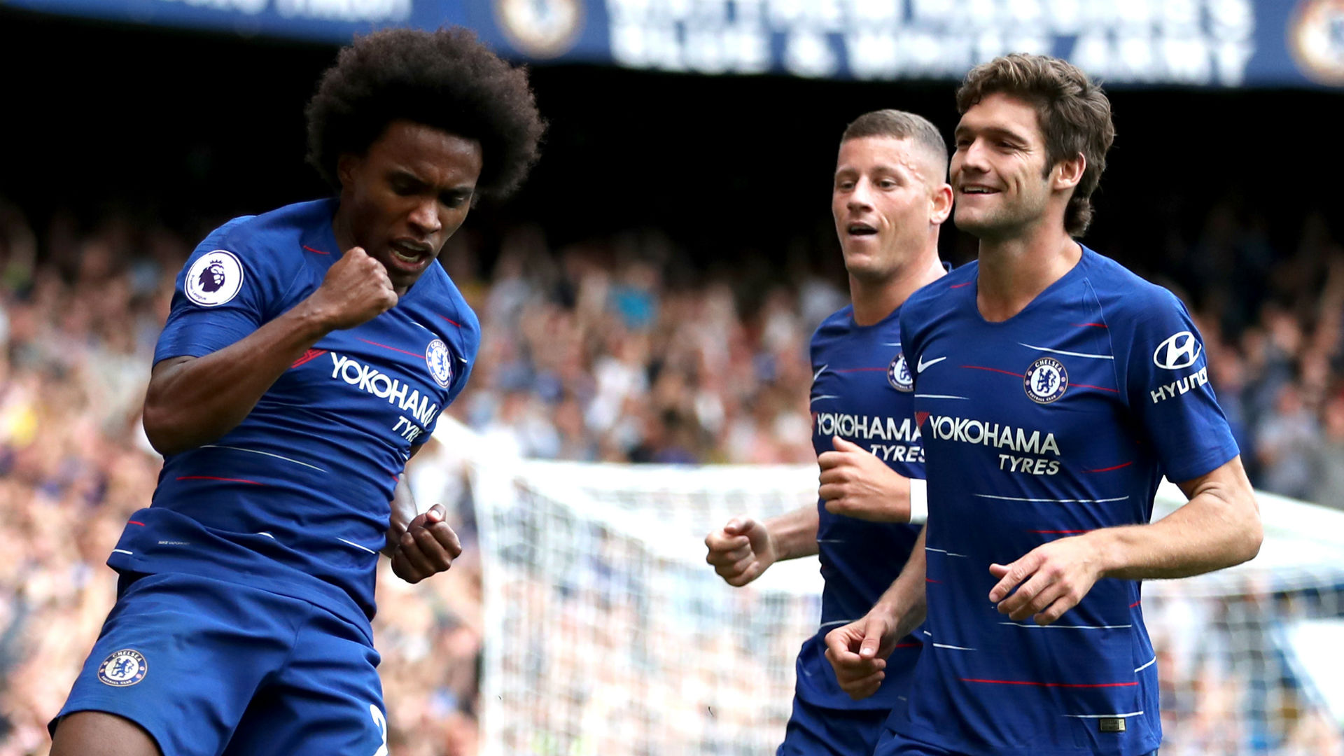 Willian Marcos Alonso Chelsea