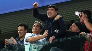 Diego Maradona Nigeria Argentina Group D 2018 World Cup 26062018