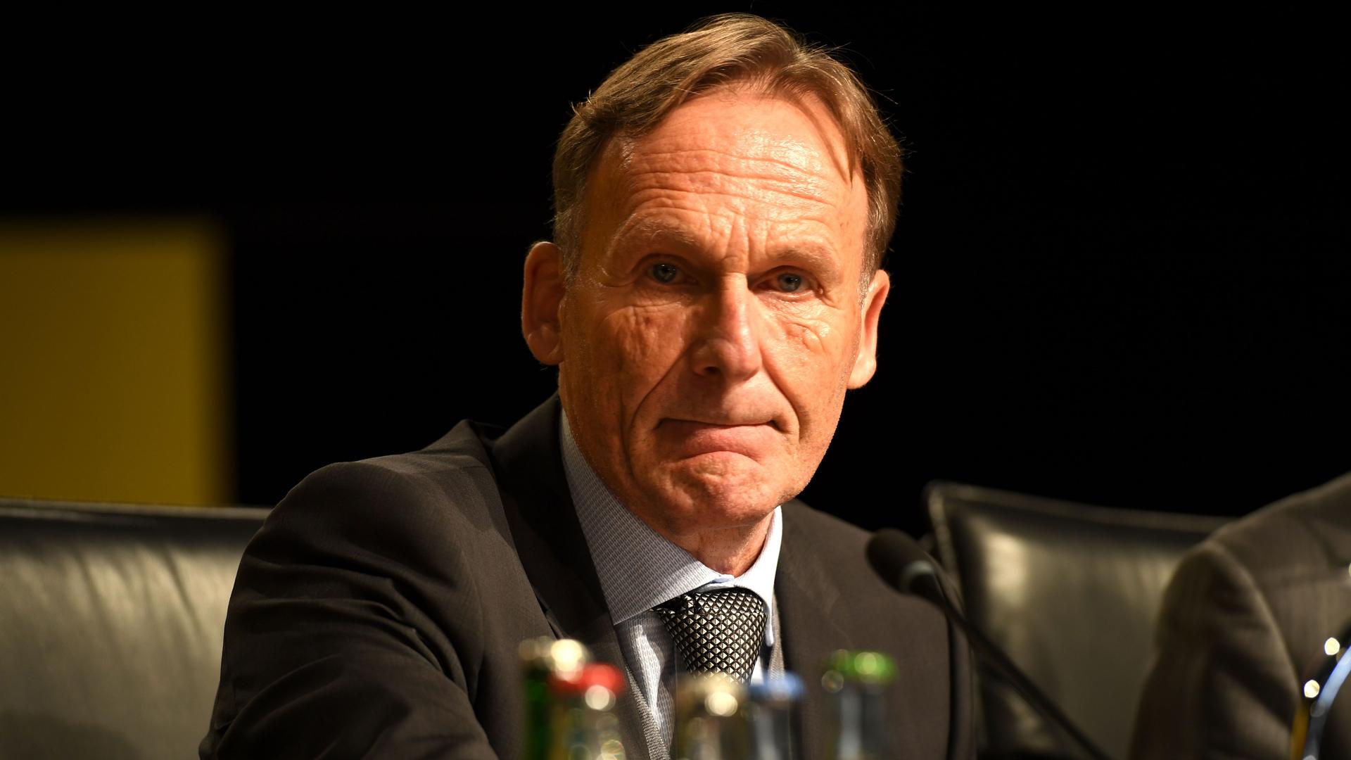 Hans-Joachim Watzke Borussia Dortmund 26112017