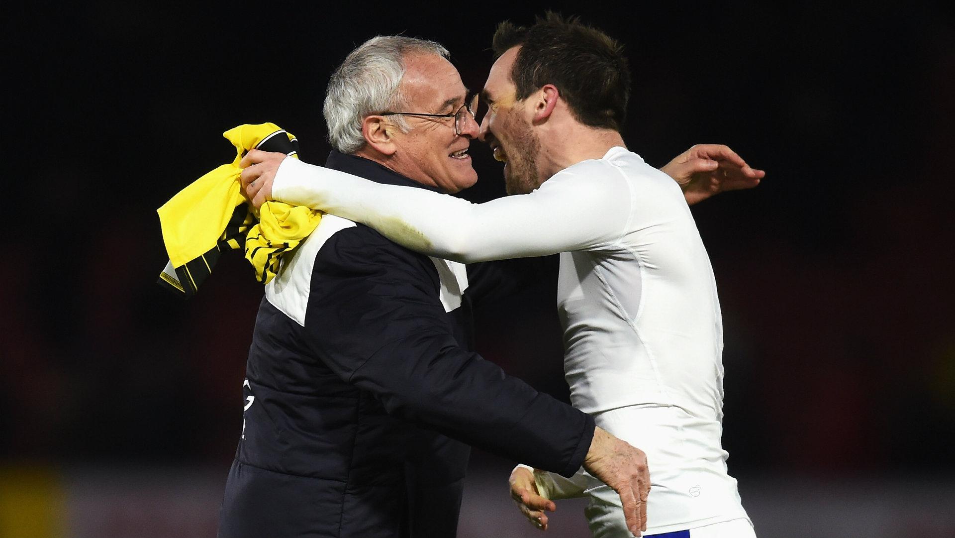 Christian Fuchs, Claudio Ranieri, Leicester
