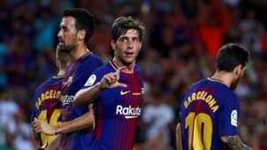 Sergi Roberto Barcelona Betis LaLiga 20082017
