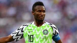 John Obi Mikel Nigeria 2018 World Cup