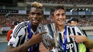 Paulo Dybala Paul Pogba Juventus Serie A
