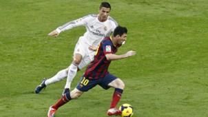 Lionel Messi Barcelona Cristiano Ronaldo Real Madrid La Liga