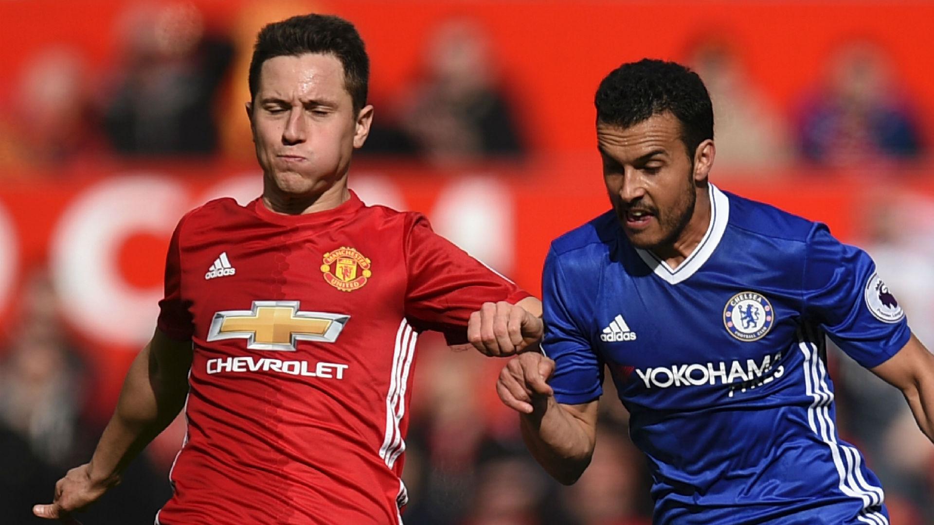 Ander Herrera Manchester United Pedro Chelsea