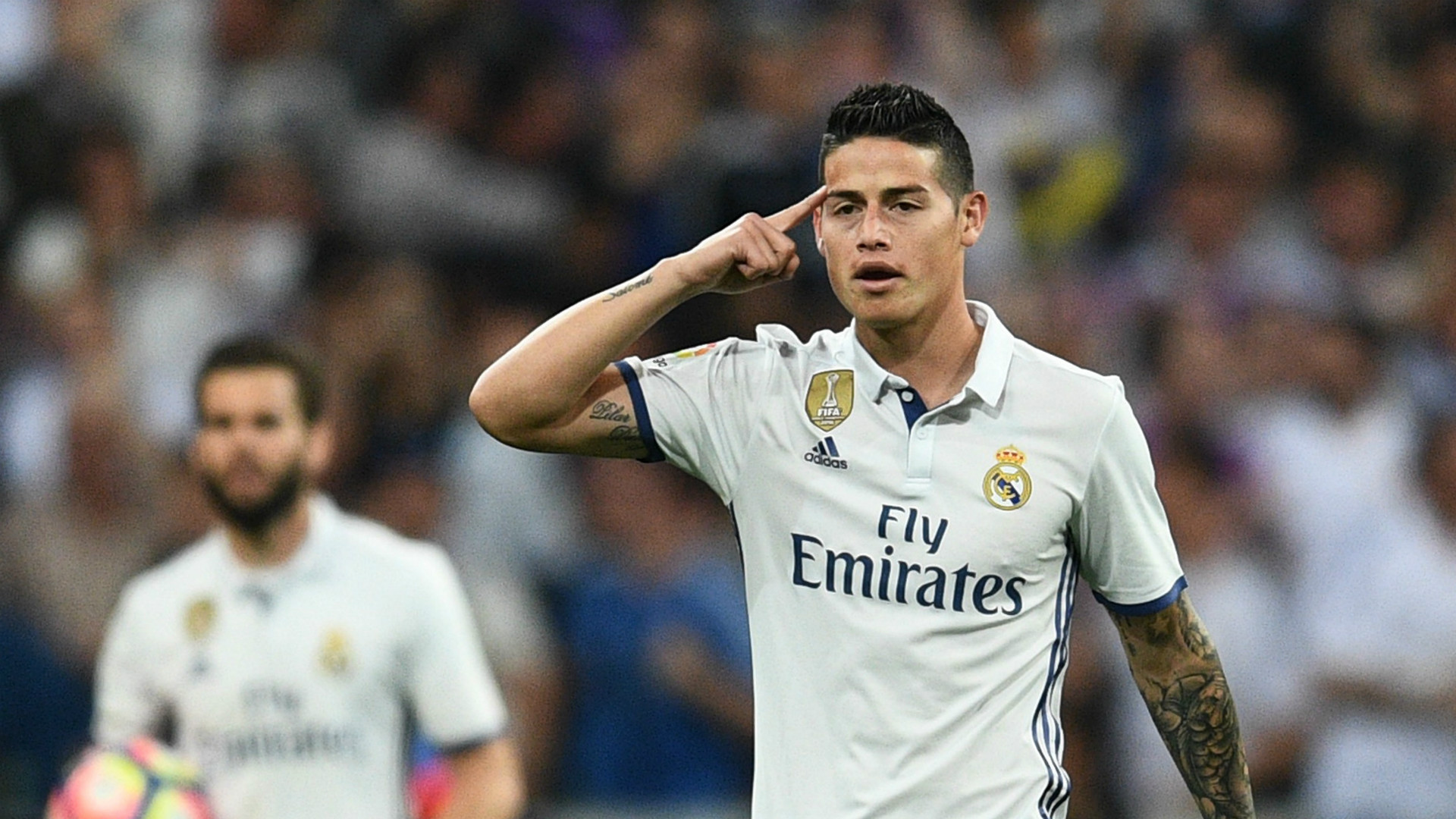 James Rodriguez Real Madrid Barcelona LaLiga