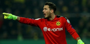 Roman Burki Borussia Dortmund DFB Pokal