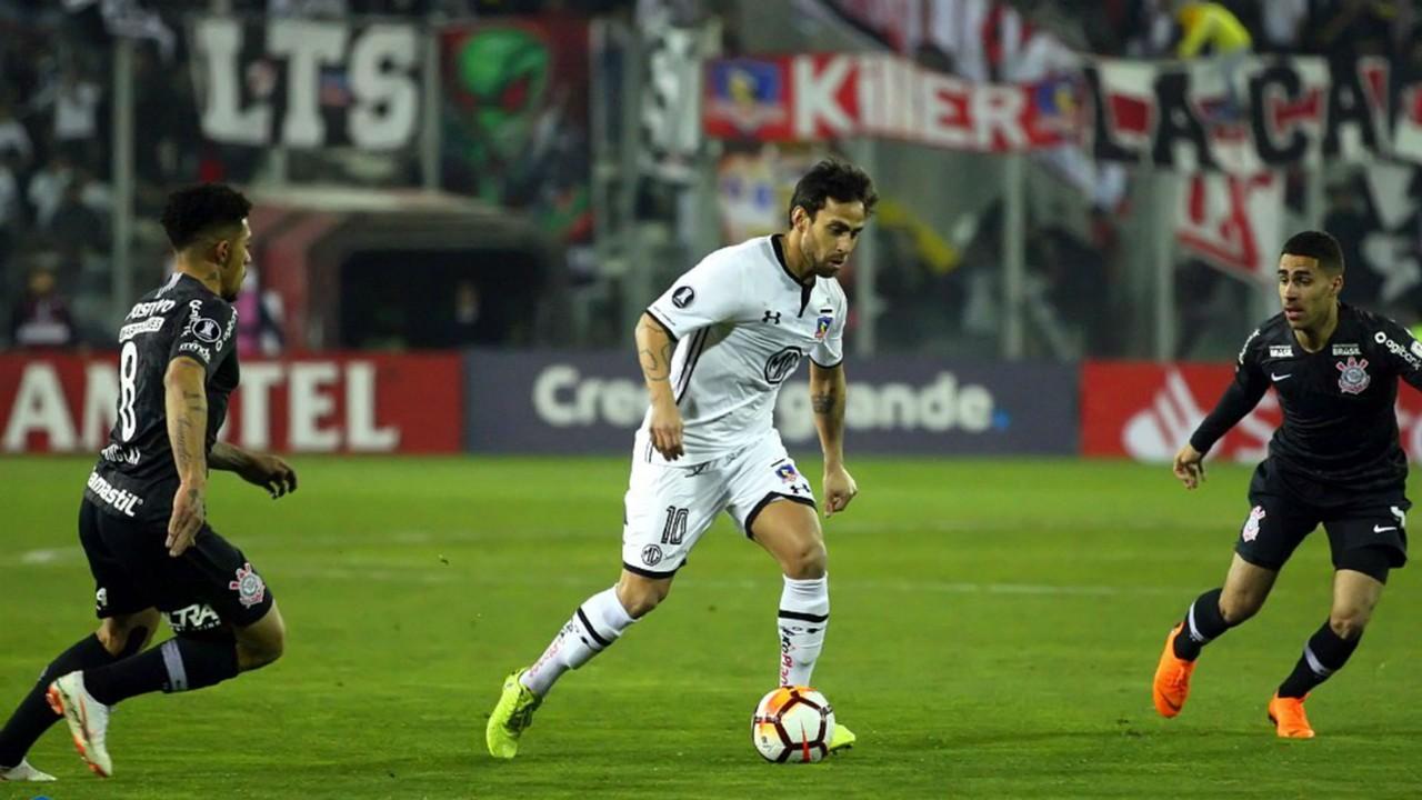 Jorge Valdivia Colo Colo Corinthians 08082018