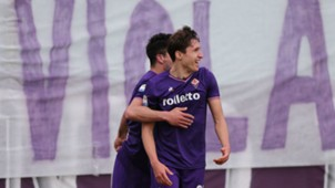 Federico Chiesa Giovanni Simeone Fiorentina Crotone Serie A