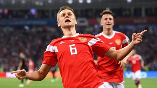 Denis Cheryshev Russia Croatia World Cup 2018 070718