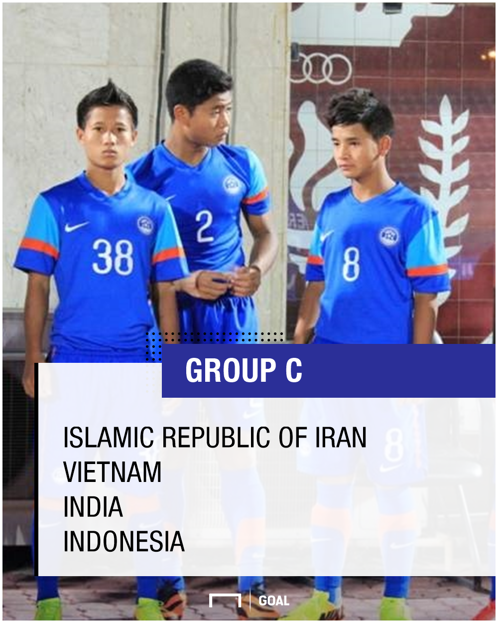 GFX India Group - AFC U-16 Championship 2018 Official Draw
