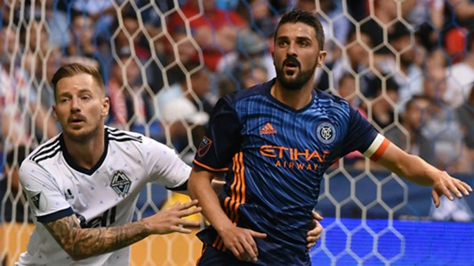 David Villa Jordan Harvey New York City FC Vancouver Whitecaps MLS