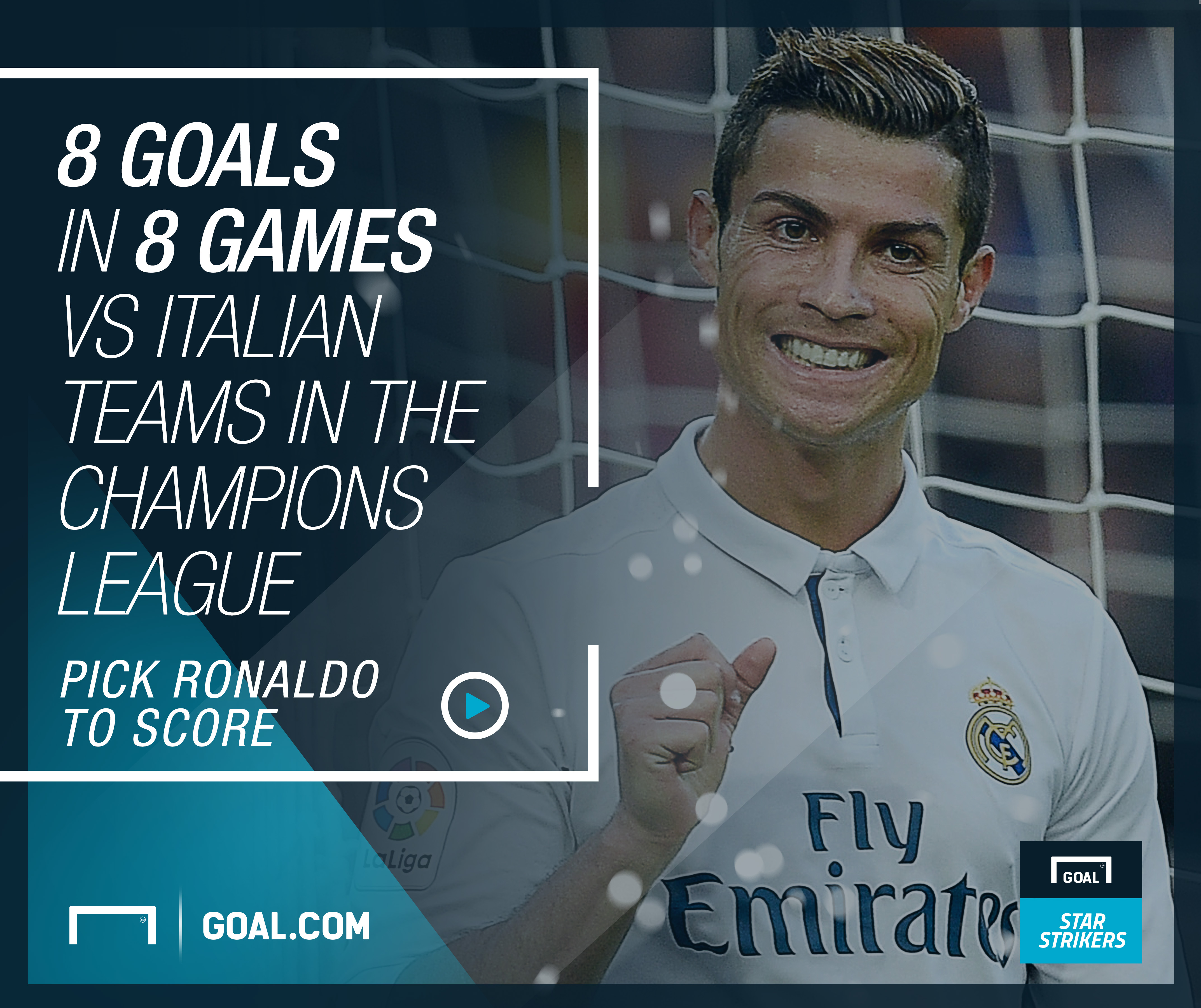 Goal Star Strikers - Ronaldo