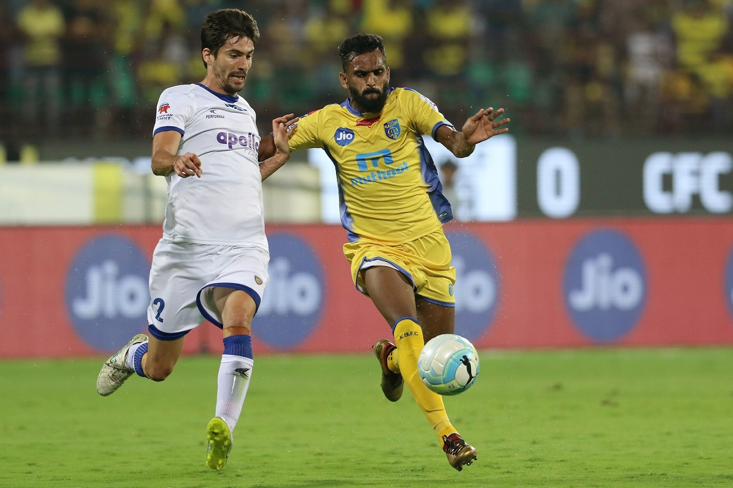 Kerala Blasters vs Chennaiyin