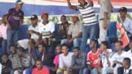 Harambee Stars fans at Machakos Stadium.
