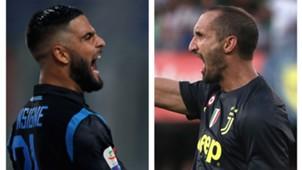 Insigne Chiellini - Juventus Napoli