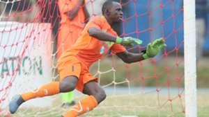 Gor Mahia keeper Fredrick Odhiambo.