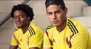 Colombia - Rusia 2018- Home Kit