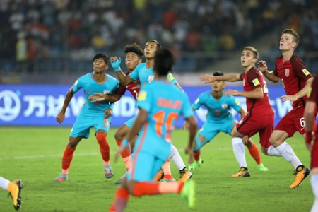 India U17 v USA U17