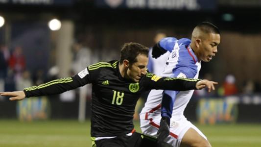 Bobby Wood Andres Guardado USA Mexico 11122016