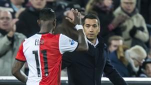 Eljero Elia, Giovanni van Bronckhorst, Feyenoord - Go Ahead Eagles, 05042017
