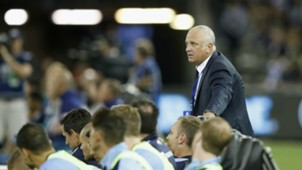 Graham Arnold Melbourne Victory v Sydney FC A-League 26012017
