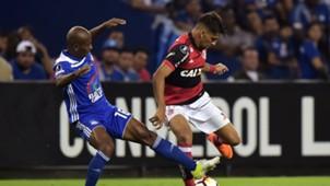 Oscar Bagui Lucas Paqueta Emelec Flamengo 14032018 Copa Libertadores